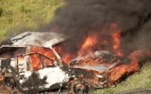 Lucciana : une voiture brûlée à la Canonica