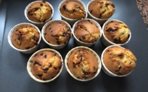 A table : Muffins aux pépites de chocolat