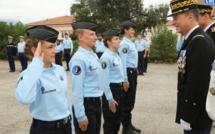 Aspretto : Cérémonie de fin de stage de la préparation militaire gendarmerie