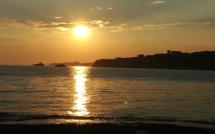 La photo du jour jour : le soleil sur I Tre Punti