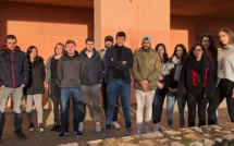 Des étudiants de Corte exportent les produits corses en Espagne