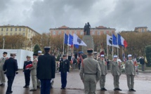 Bastia commémore l'Armistice du 11 novembre 1918