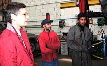 """Le sous-préfet de Calvi a visité les chantiers d'insertion """"Attelu Mubilità"""" et """"Attelu d'écocreazione"""""""