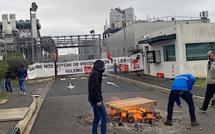 """Blocage de la centrale de Lucciana : """"l'énergie pour tous c'est notre combat"""""""