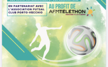 Téléthon :  Vendredi 7 décembre un tournoi de Futsal à Porto-Vecchio