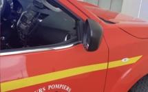 Linguizzetta  : une voiture termine sa course sur le toit, deux blessés