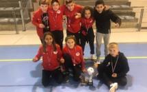 Futsal : Pierre-Marie Innocenti et Yliès El Mahi récompensés au tournoi d'Agde