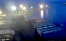 """Grève du STC  de la Méridionale : le """"Pascal-Paoli"""" a mis le cap sur le port de Brégaillon"""