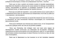 Municipales 2020 : A Porti Vechju, Core in Fronte soutien Don-Mathieu Santini