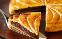 A table : La Galette des rois au chocolat