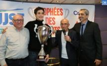 Pierre-Louis Loubet lauréat du super trophée de l'UJSF