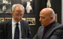 Football : Marc Riolacci, l'ancien président de la LCF,  s'en est allé