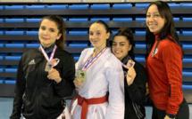 Karaté : trois médailles pour l'AC Ajaccio à l'Open de France