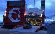 Grève maritime : Après Bastia, le Pascal Paoli ravitaille Ajaccio