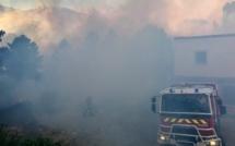 Feu de Quenza : pas de point sensible menacé. Un sapeur-pompier volontaire blessé