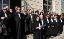 Reforme de retraites :  Les avocats du barreau d'Ajaccio ne désarment pas