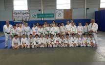 Stages d'hiver : 100 judokas représentant 15 clubs de toute l'ile sur les tatamis