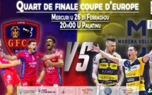 Coupe d'Europe CEV de volley-ball : ce 26 mercredi le GFC Ajaccio accueille Modene