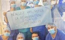 Face au coronavirus, les infirmiers du service réanimation d'Ajaccio appellent à ne pas aller voter
