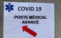 Covid-19 : mise en place d'un point médical avancé à Lisula