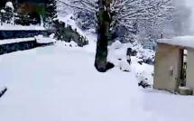 Episode de froid inédit en Corse : le thermomètre est tombé à -7 degrés du côté de Venaco