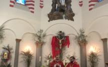Bastia : les Rameaux bénis du clocher de Notre Dame de Lourdes
