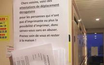 """Journal du confinement, jour 20 : """"Chers voisins, voici des attestations de déplacement pour ceux qui n'ont pas d'imprimante"""""""