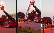 Ils combattent tous les jours le coronavirus : l'hommage aux pompiers de Bastia