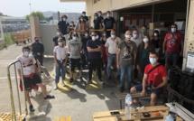 Ajaccio : les agents du centre de tri de La Poste en grève
