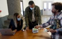 Covid-19 - Distribution gratuite de masques à Bastia