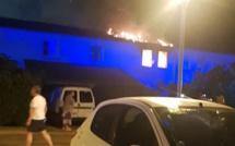 Un appartement de 70 m2 détruit par un incendie à Lucciana