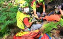 Double intervention pour le groupe de montagne des sapeurs-pompiers de Corse-du-Sud