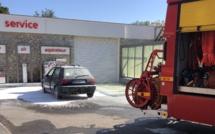 Algajola : une voiture prend feu pendant que la station-service est réapprovisionnée