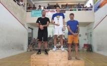 XXIVème Open de Squash de l'Ile-Rousse: Antonin Romieu maître chez lui