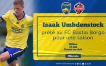 Football :  Isaak Umbdenstock vient étoffer l'effectif du FC Bastia-Borgo