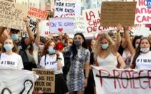"""""""I was"""" : 600 personnes manifestent à Ajaccio contre les violences sexistes et sexuelles"""