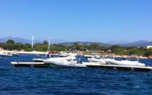 """Des mouillages """" Effet mer """" à l'Isolella"""