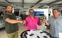 Ford Bastia soutient la ligue corse de rugby