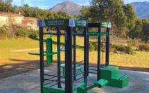 Une première aire de fitness connectée en accès libre débarque à Corte