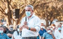 Xavier Bertrand à Lumio : de la Covid-19 à la crise économique et sociale