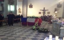 Les obsèques de Xavier Orlandini à L'Ile-Rousse