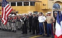 Cérémonie du 11 novembre Franco-Américaine à Calvi