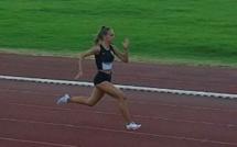 Athlétisme : deuxième chrono français de la saison sur 120 m pour Morgane Cleret