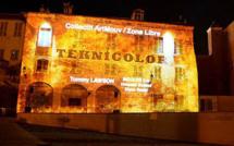 """Mapping à Bastia : Festival """"Teknicolor"""""""