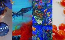 Peintures, bijoux, sculptures et artisanat d'art à la galerie Noir et Blanc à Bastia