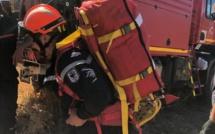 Trois groupes de pompiers maintenus au col de Salvi