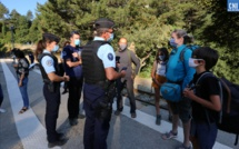 COVID-19 : opération de sensibilisation des randonneurs à Vizzavona