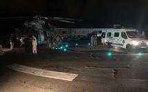 Evacuation médicale au Nord du Cap Corse