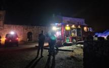 Monticello : une habitation ravagée par les flammes