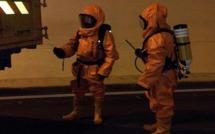 Exercice de sécurité dans le tunnel de Bocognano